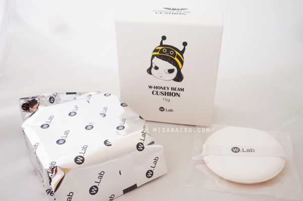 w.lab korean honey beam cushion review