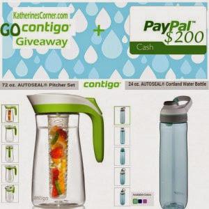 Contigo and Paypal CASH Giveaway