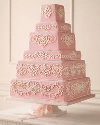 Martha Stewart Romantic Wedding Cake