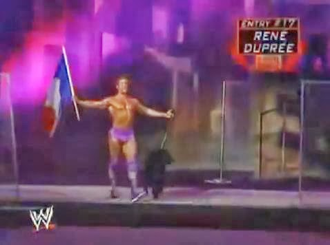 Rene Dupree La Resistance France 2005 Royal Rumble dog