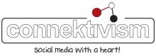 connektivism, logo, social media, marketing