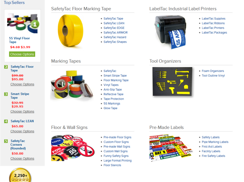 trusted workplace visual cues and systems supplier