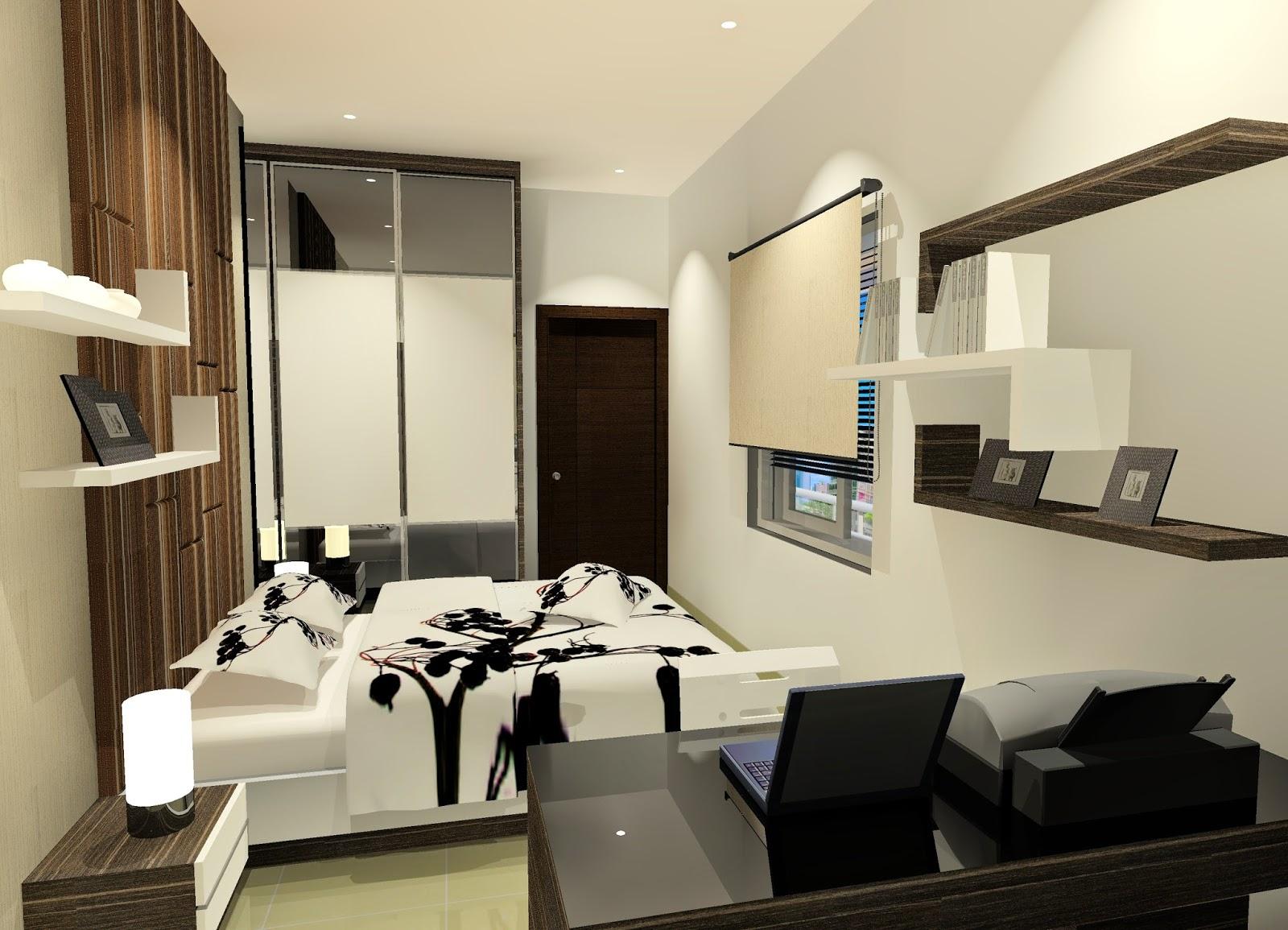 desain kamar tidur seperti kamar hotel   sobat interior rumah