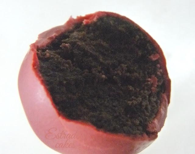 cake pop por dentro