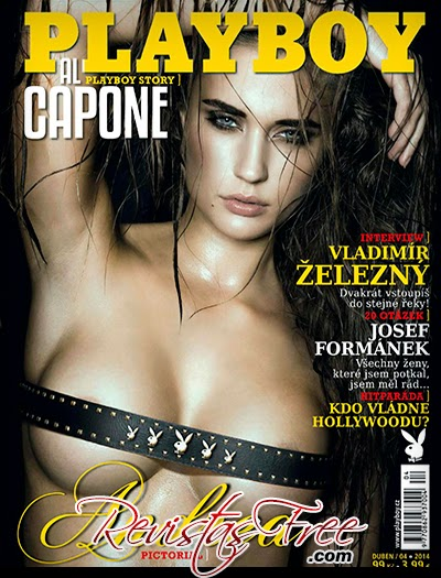 Playboy Czech Republic - Andrea Kocmanova - Abril 2014