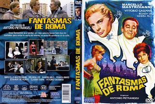 Fantasmas en Roma (1961) - Carátula