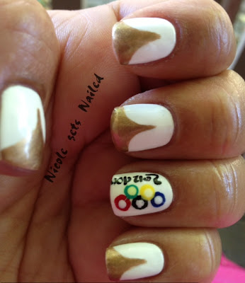 2012 London Summer Olympics Nail Art