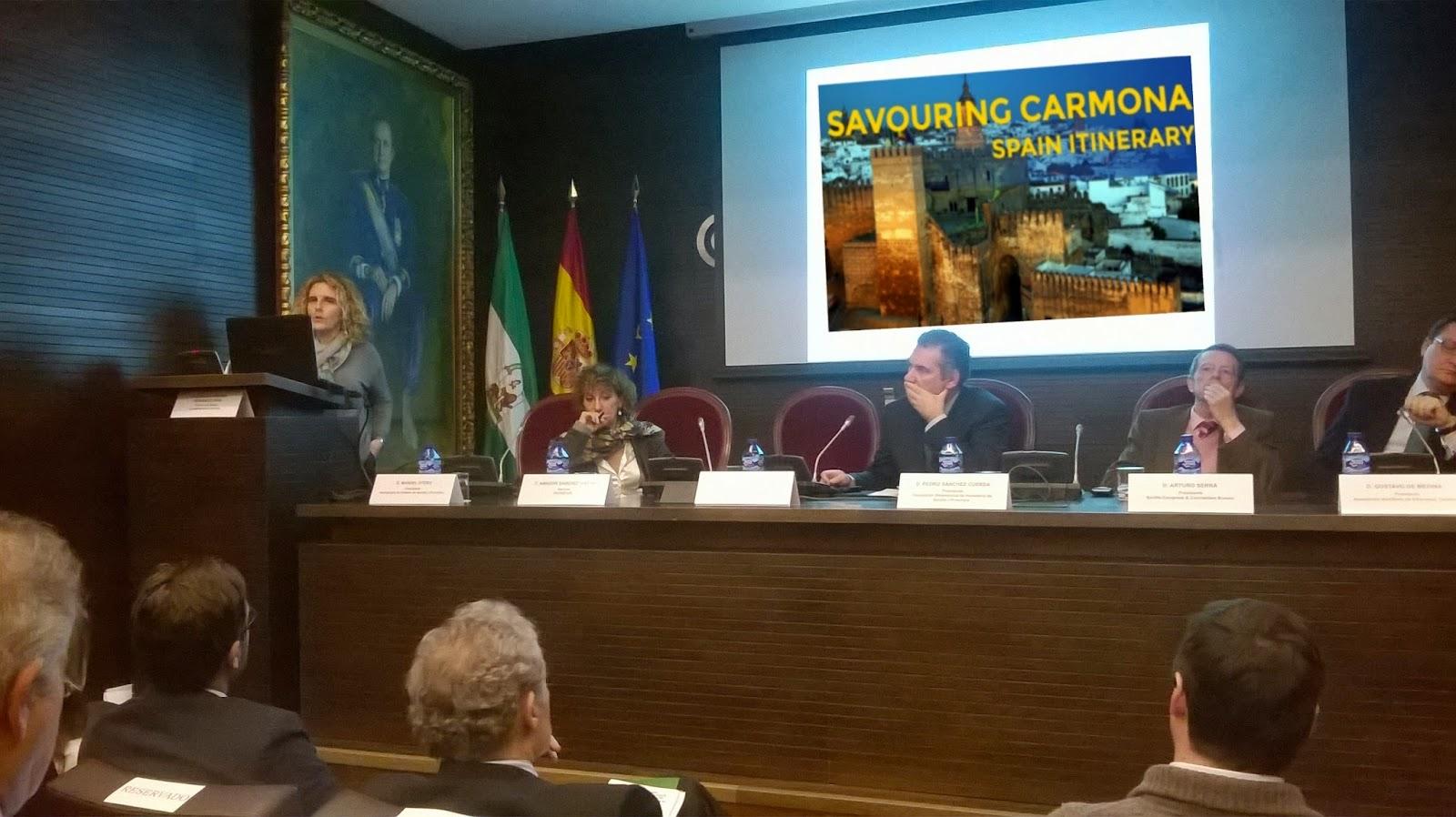 Oficina de turismo de carmona carmona presenta sus rutas for Oficina turismo carmona