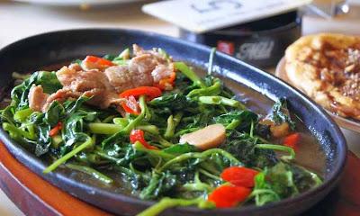 Resep Masak Cah Kangkung Hot Plate