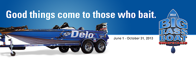 Delo Bass Boat Sweepstakes
