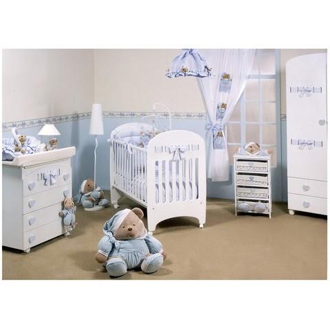 10 habitaciones color celeste para beb ideas para - Ideas para habitaciones de bebes ...