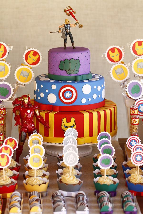 Personalizando Festa Festa Vingadores -> Decoração De Festa Os Vingadores