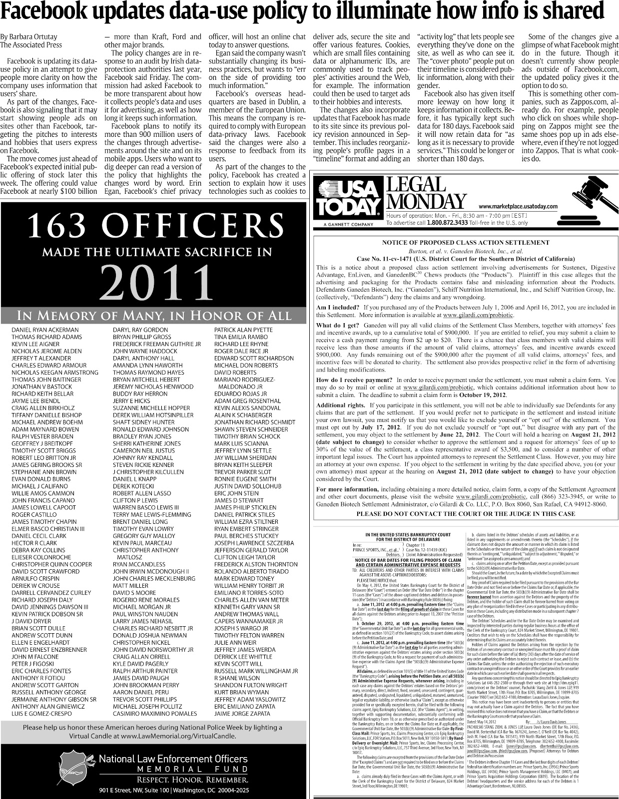 law enforcement today paper Find the latest breaking police news, video & opinion on policeone, the leading   the iconic police tactics textbook is updated to reflect the current challenges.