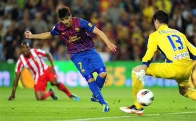 Barcelona 5 - 0 Atletico Madrid (2)