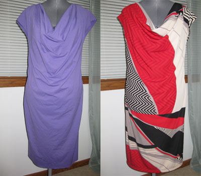 Site Blogspot  Dkny Dresses on Sharon Sews  The Easy Dkny Dress Is Underway  Vogue 1250