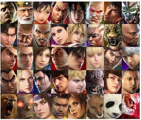 Tekken 4 characters