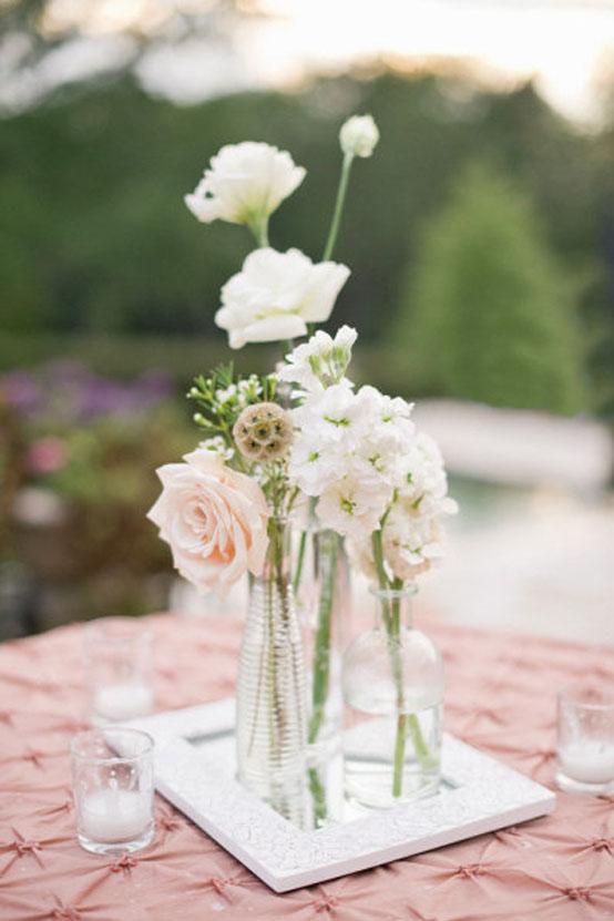 oh!myWedding: Centros de mesa en la decoración de la boda / Wedding