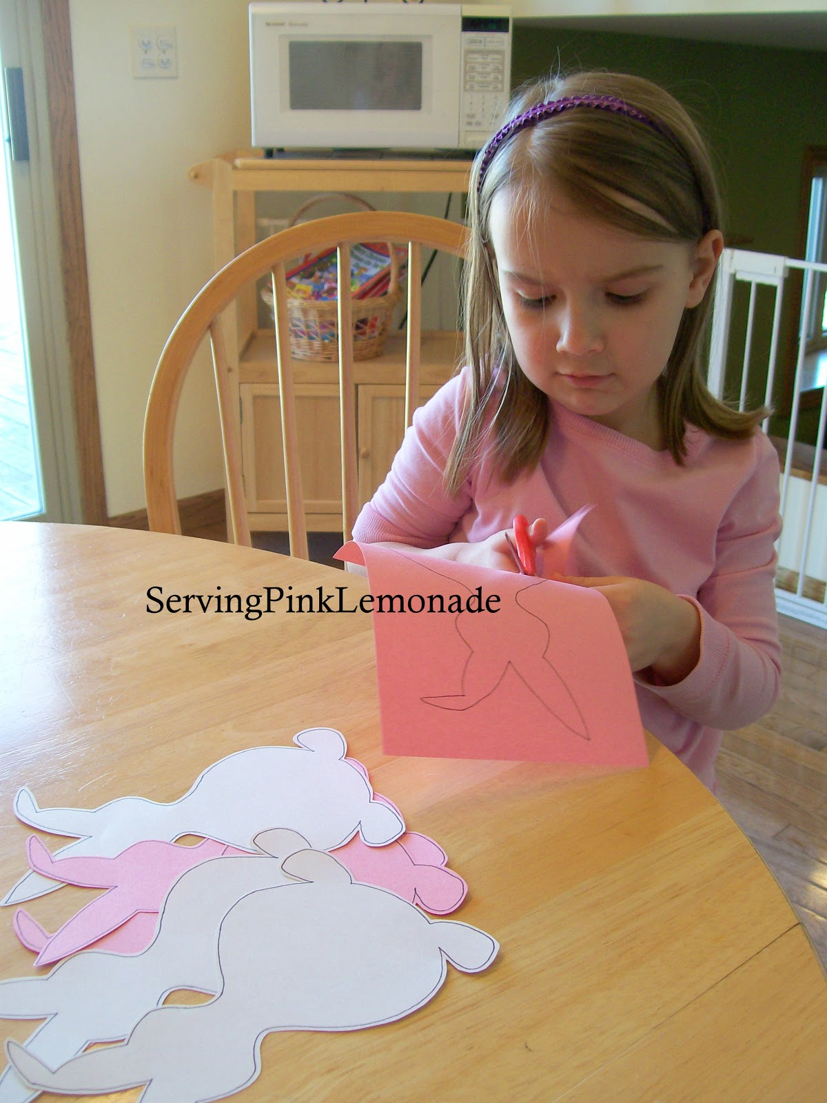 Serving Pink Lemonade: Bunny Banner