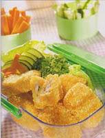 nugget ikan dan sayur