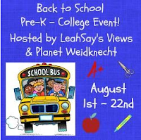 Back to School Pre K to College with LeahSay's Views and Planet Weidknecht