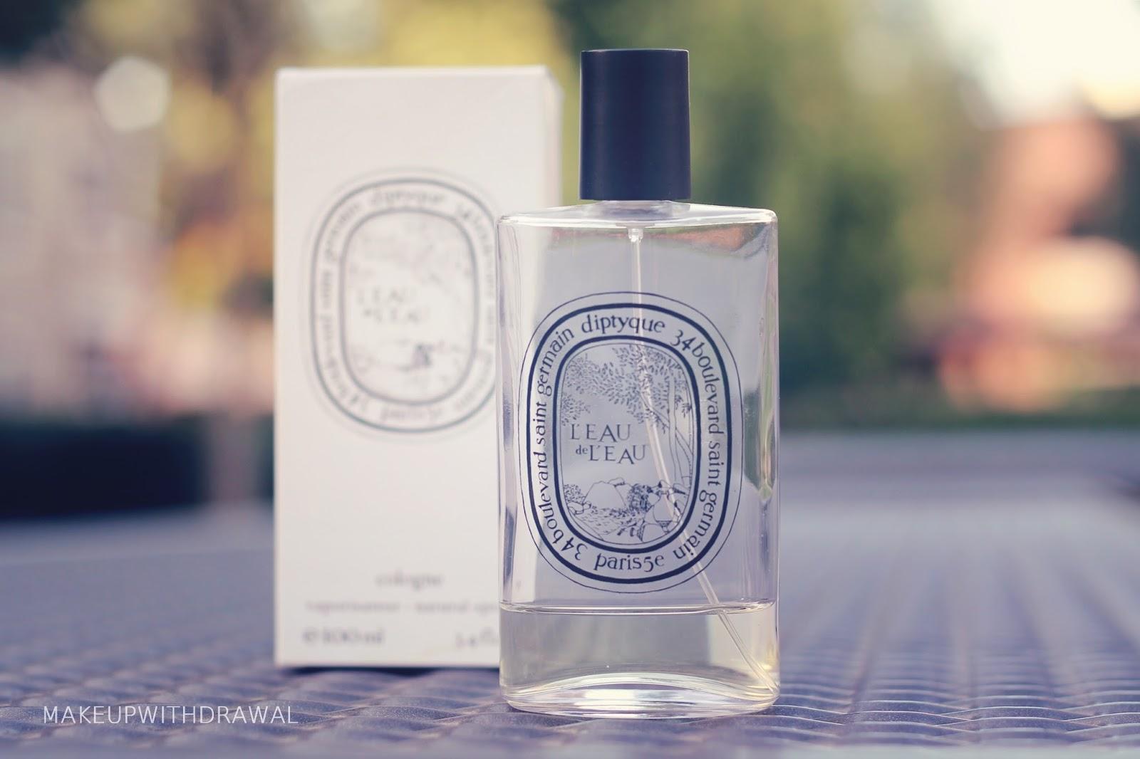 perfume diary diptyque l 39 eau de l 39 eau eau de cologne makeup withdrawal. Black Bedroom Furniture Sets. Home Design Ideas
