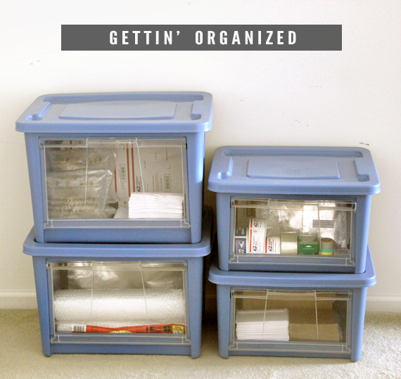 Organized Office Makeover // Bubby and Bean