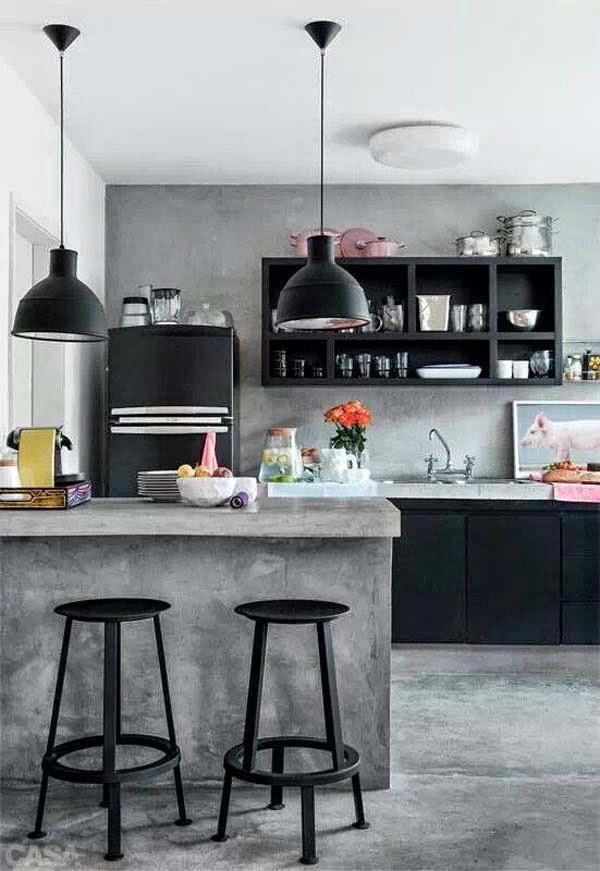 Forum Arredamento.it •curiosità: cucina in cemento? e aiuto disposizione