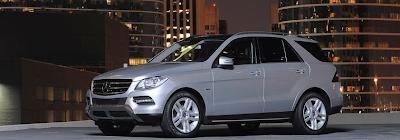 2012 Mercedes-Benz M-Class silver