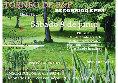 El Pilar Sarria Pitch & Putt Torneo EPPA