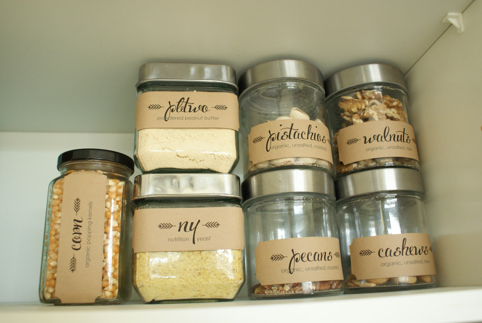 New Pantry Labels La Terre Collection