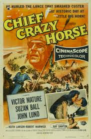 CHEFE CAVALO LOUCO - CHIEF CRAZY HORSE - 1955