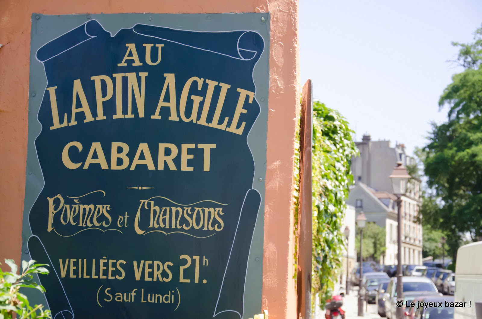 Paris - Montmartre - le Lapin Agile