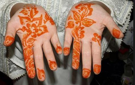 Henna in Morocco : Tattoo Design