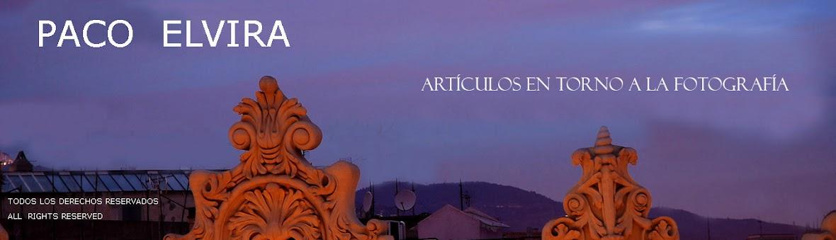 Paco Elvira articulos