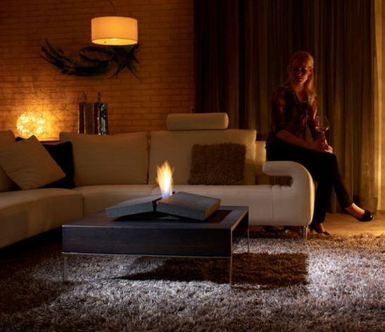 portable fire place, modern fire place, all modern, made her look, madeherlook.blogspot.com, ethanol gas fireplace, trendir