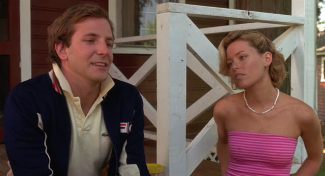 Bradley Cooper and Elizabeth Banks in Wet Hot American Summer