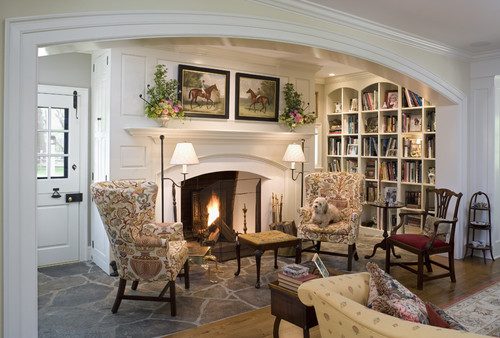 Cozy Fireplace Nook Content In A Cottage