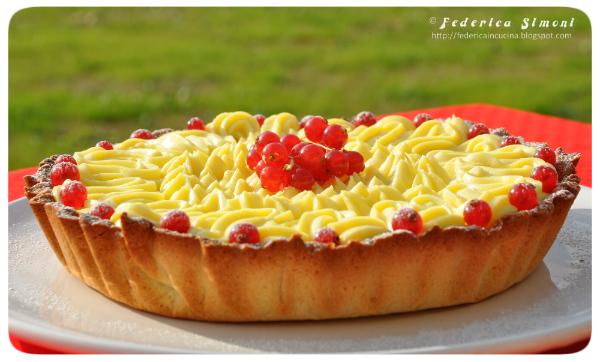 La cucina di federica crostata bianca e rossa - Cucina bianca e rossa ...