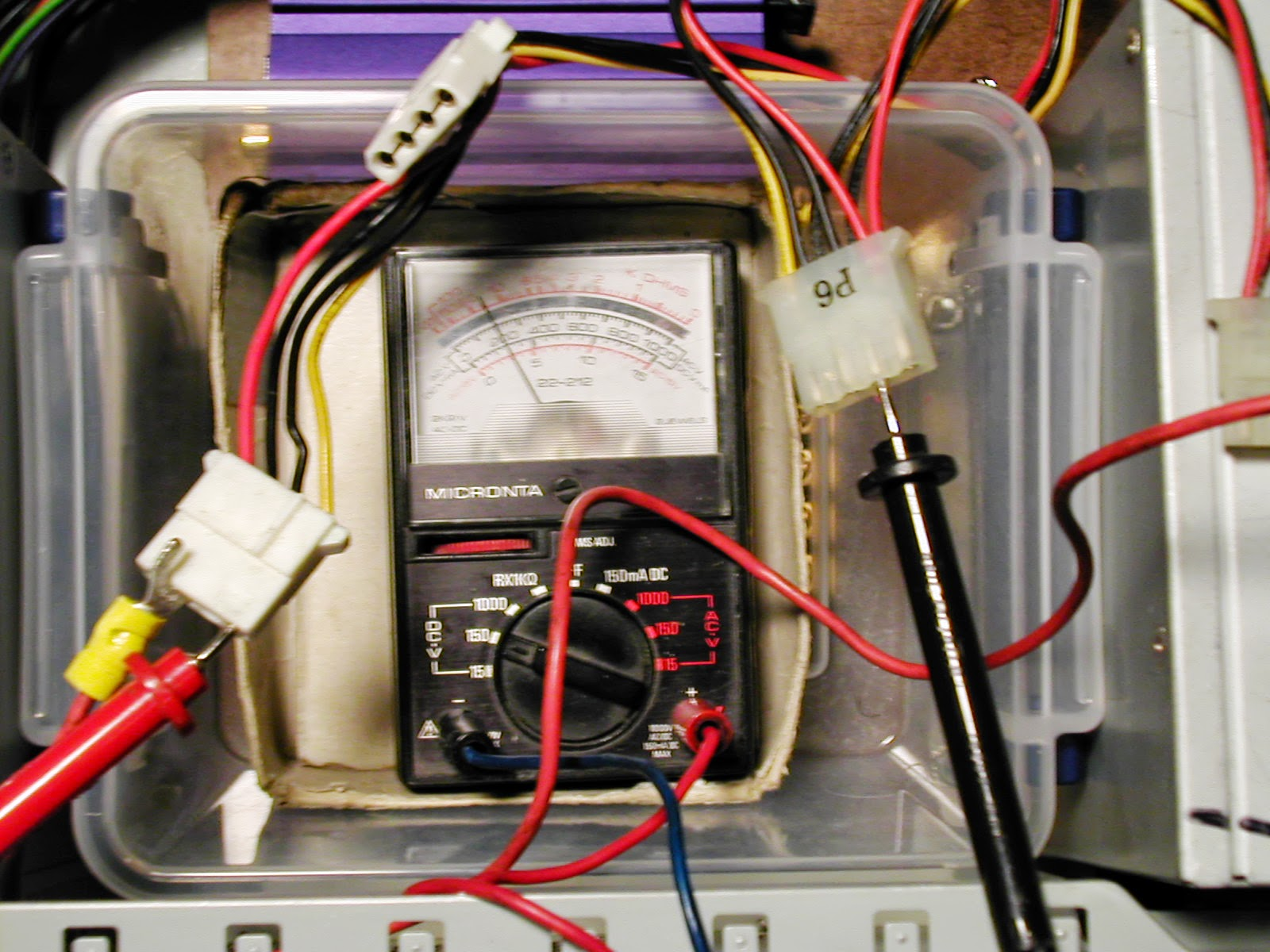Donsdeals Blog How To Use A Multimeter For Beginners Part 1 Electronic Multimeters I Have Been Using Since 1975 And Thats Old My Is Yep It Still Works Its An Analog Radio Shack Meter