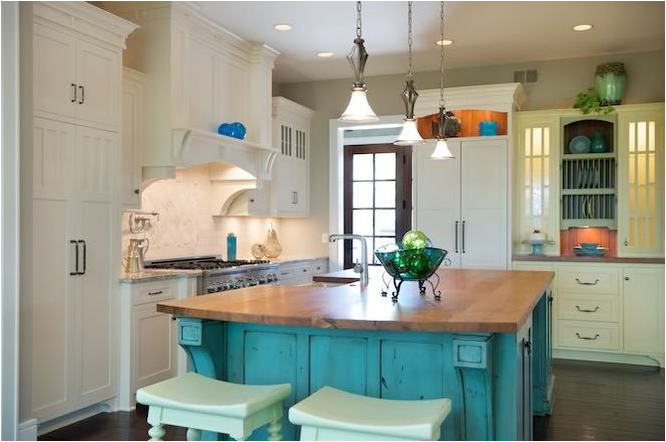 Turquoise Kitchen Design Ideas ~ Turquoise kitchen ideas room design