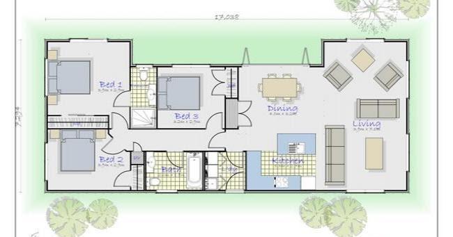 Descargar planos de casas y viviendas gratis fotos de for Casa moderna rectangular