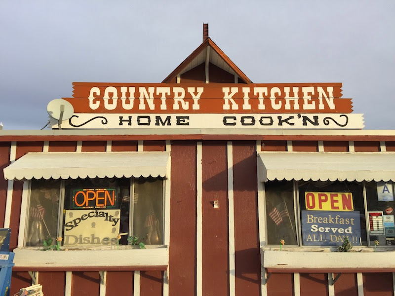 Country Kitchen in Joshua Tree CA as seen on No Reservations with Anthony Bourdain