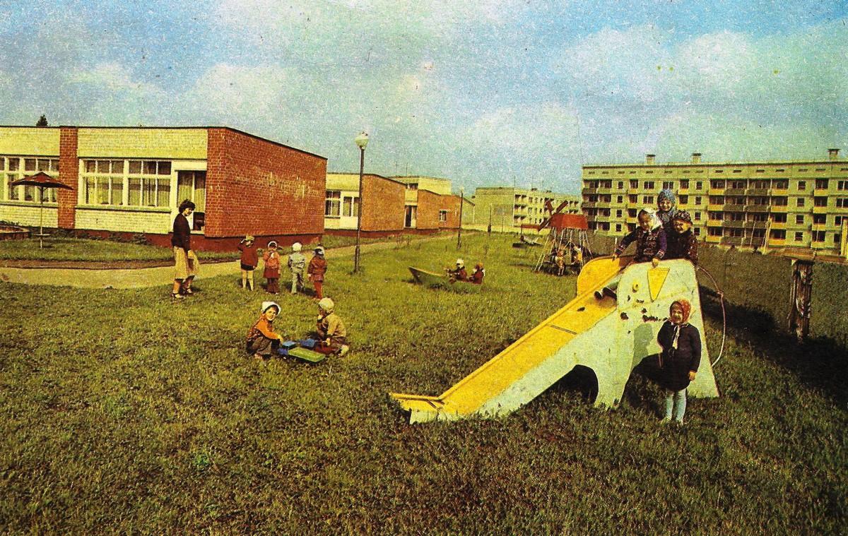 Valles bērnudārzs ,, Cielaviņa '' 1987. gadā