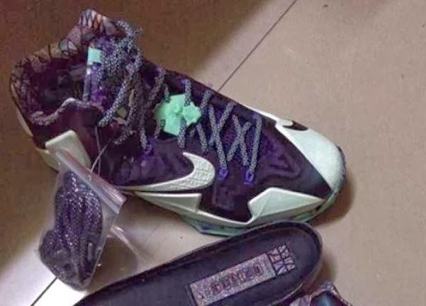 "fbd2bdfe93b8 Here is a first look at the Nike LeBron 11 XI ""Glow in the Dark"" Sneaker"