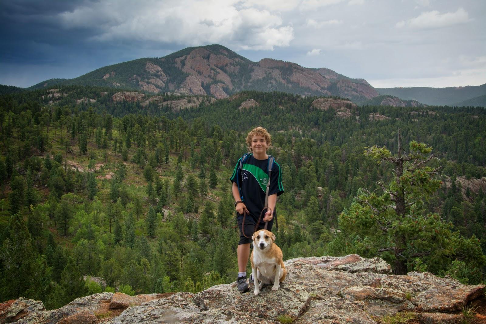 Staunton State Park: Elk Falls Overlook