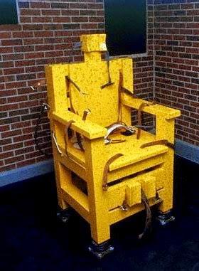 Yellow Mama: Alabama's disused electric chair
