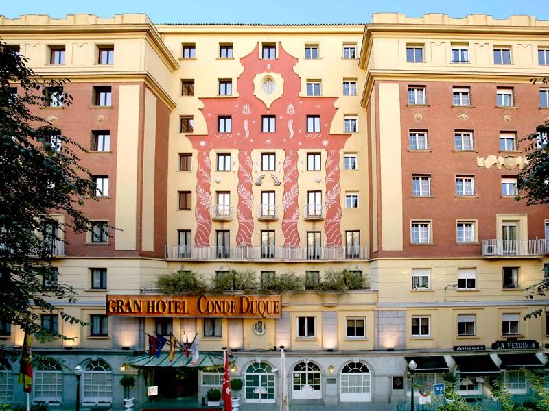 Fachada Sercotel Gran Hotel Conde Duque