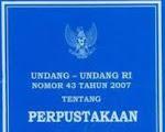 UU No.43 Tahun 2007
