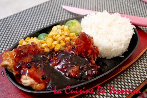La Cuisine De Veronica 港式鐵板黑椒雞扒飯