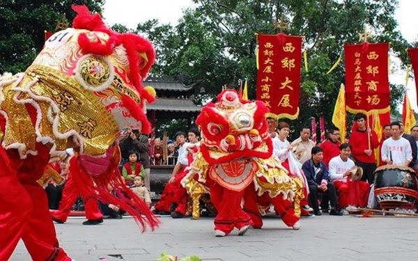 Barongsai at Chinese New Year